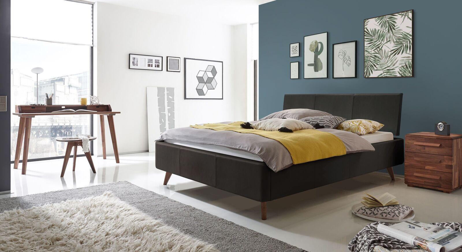 Bett Sien mit passenden Beimöbeln fürs Schlafzimmer