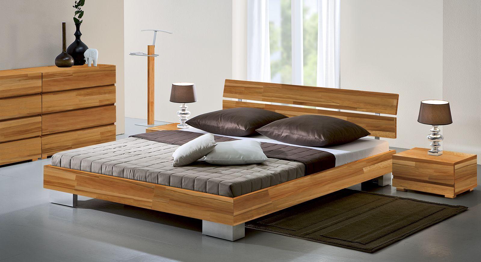 Schicke Bettbeine aus Edelstahl