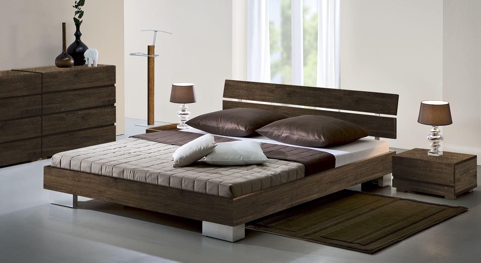 Bett Groß bett in z b 90x200 cm größe aus buchenholz sogno