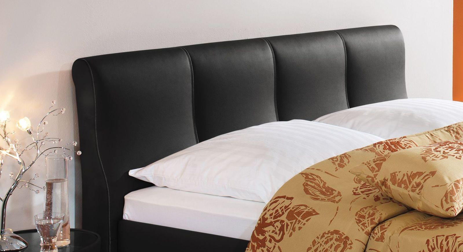 Bett Toskana mit bequemen Kopfteil zum Anlehnen