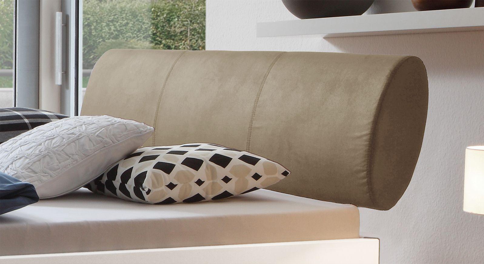 Bett Trani mit komfortablem Kopfteil