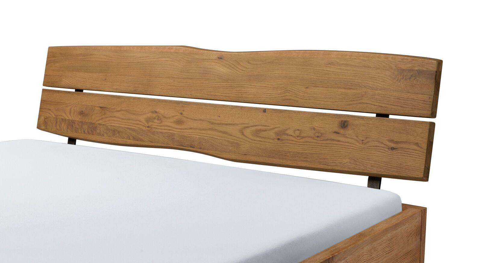 Bett Treceras Kopfteil mit natürlicher Kante