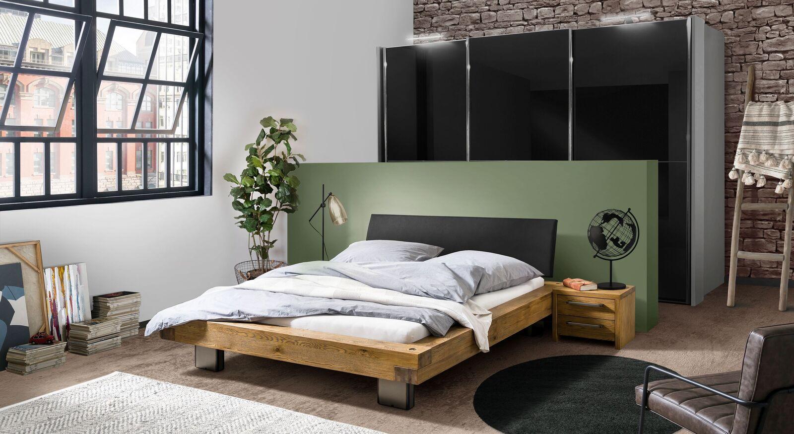 Passende Schlafzimmermöbel zum Bett Valdor