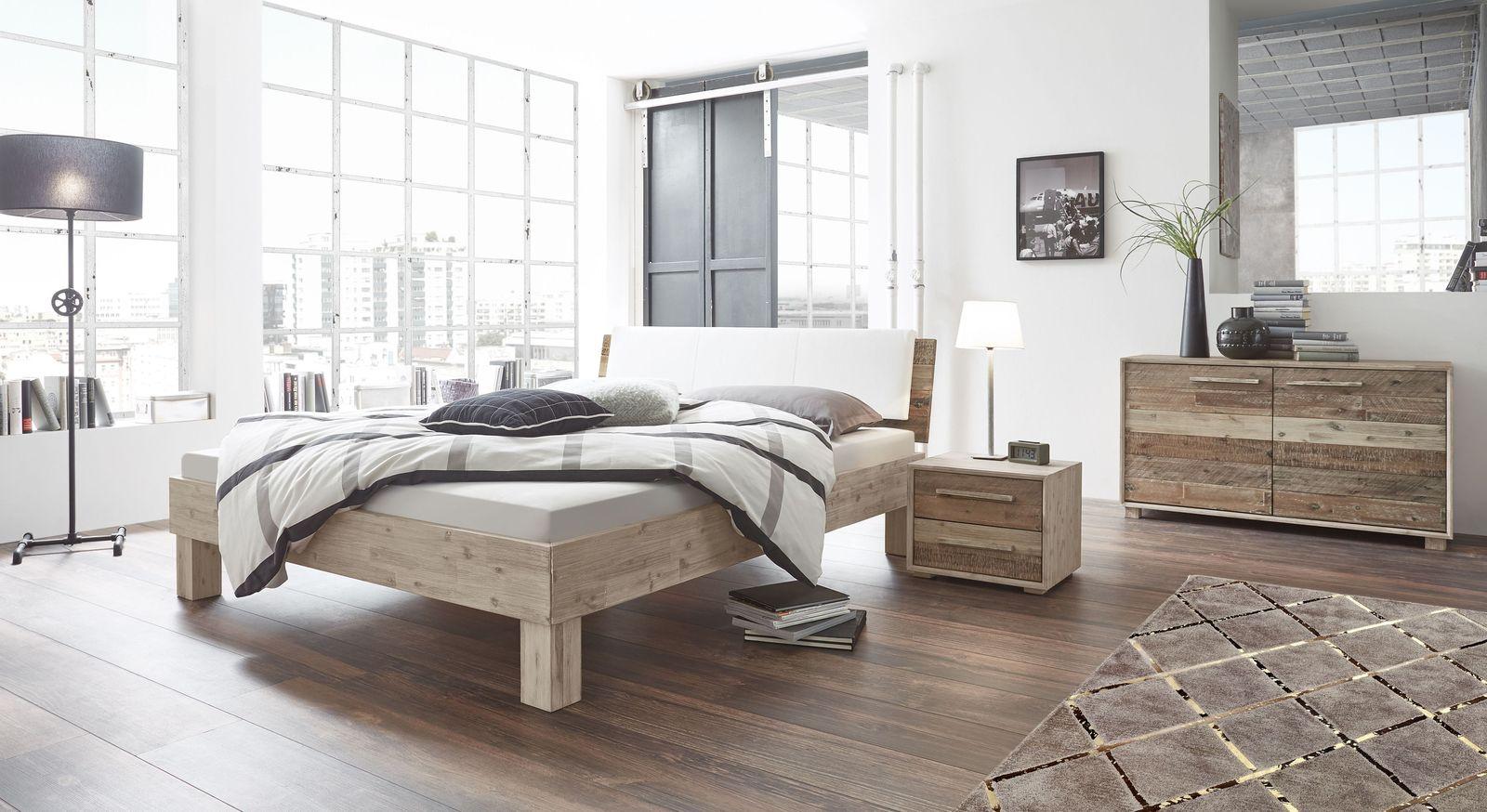 Bett Valtimo mit passender Schlafzimmer-Einrichtung