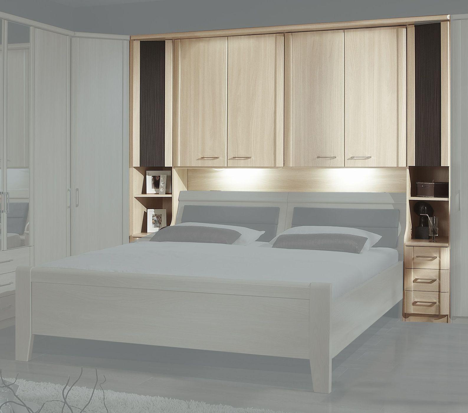 bettbrücke mit kranzleiste für Überbau-schlafzimmer - palena