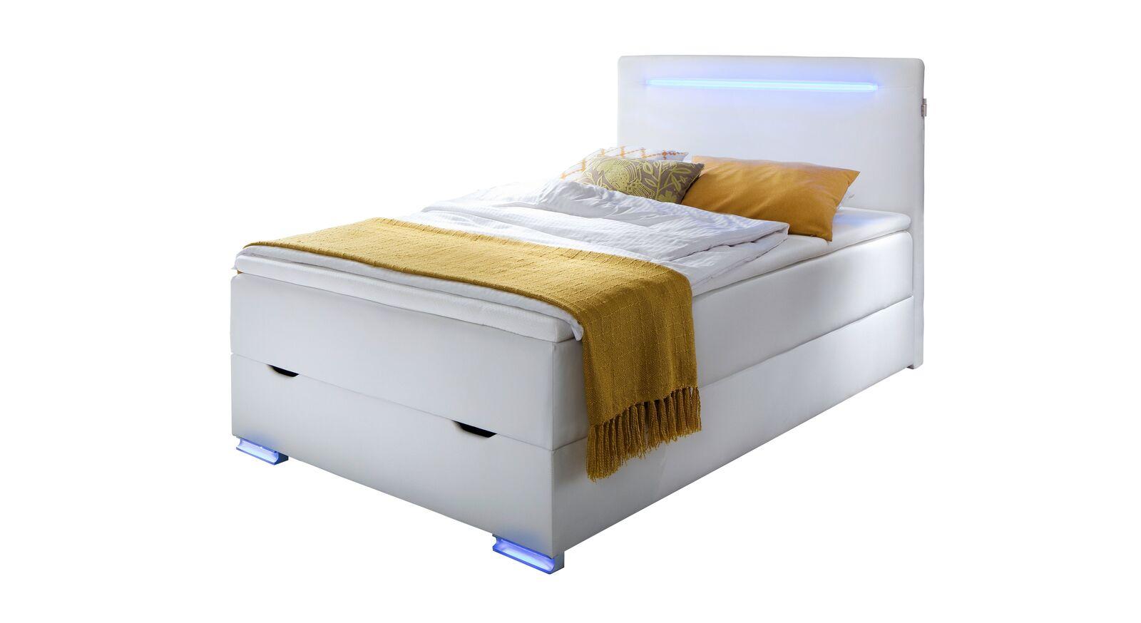 Bettkasten-Boxspringbett Iniko mit 140x200 cm