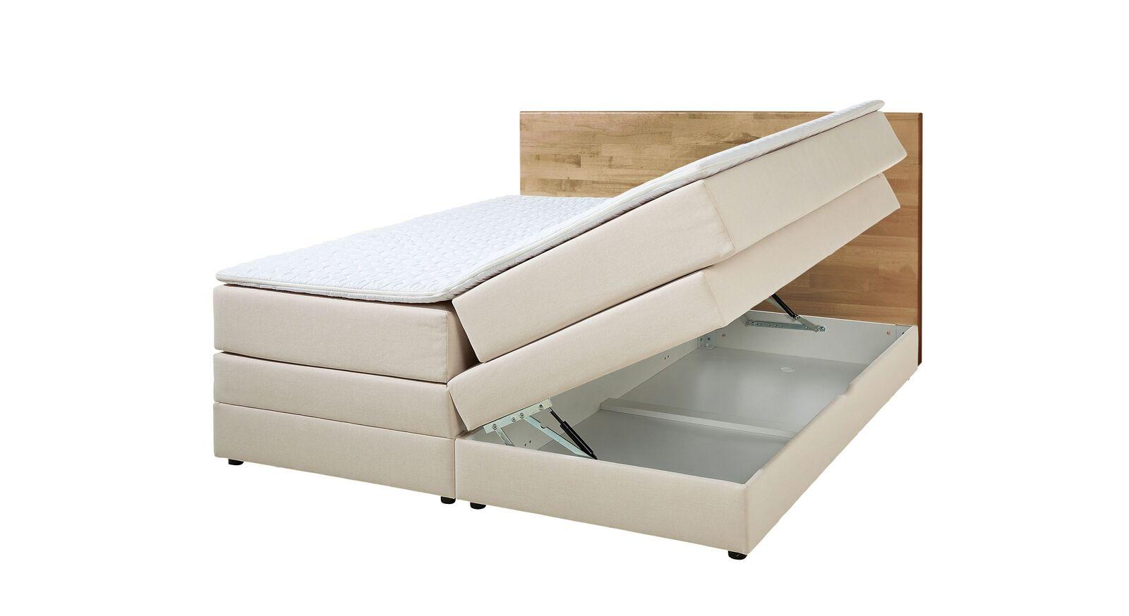 Bettkasten-Boxspringbett Peachland für perfekten Schlafkomfort