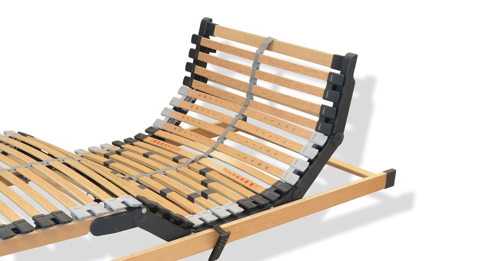 Bettkasten-Lattenrost youSleep Motor slim aus robustem Birkenholz