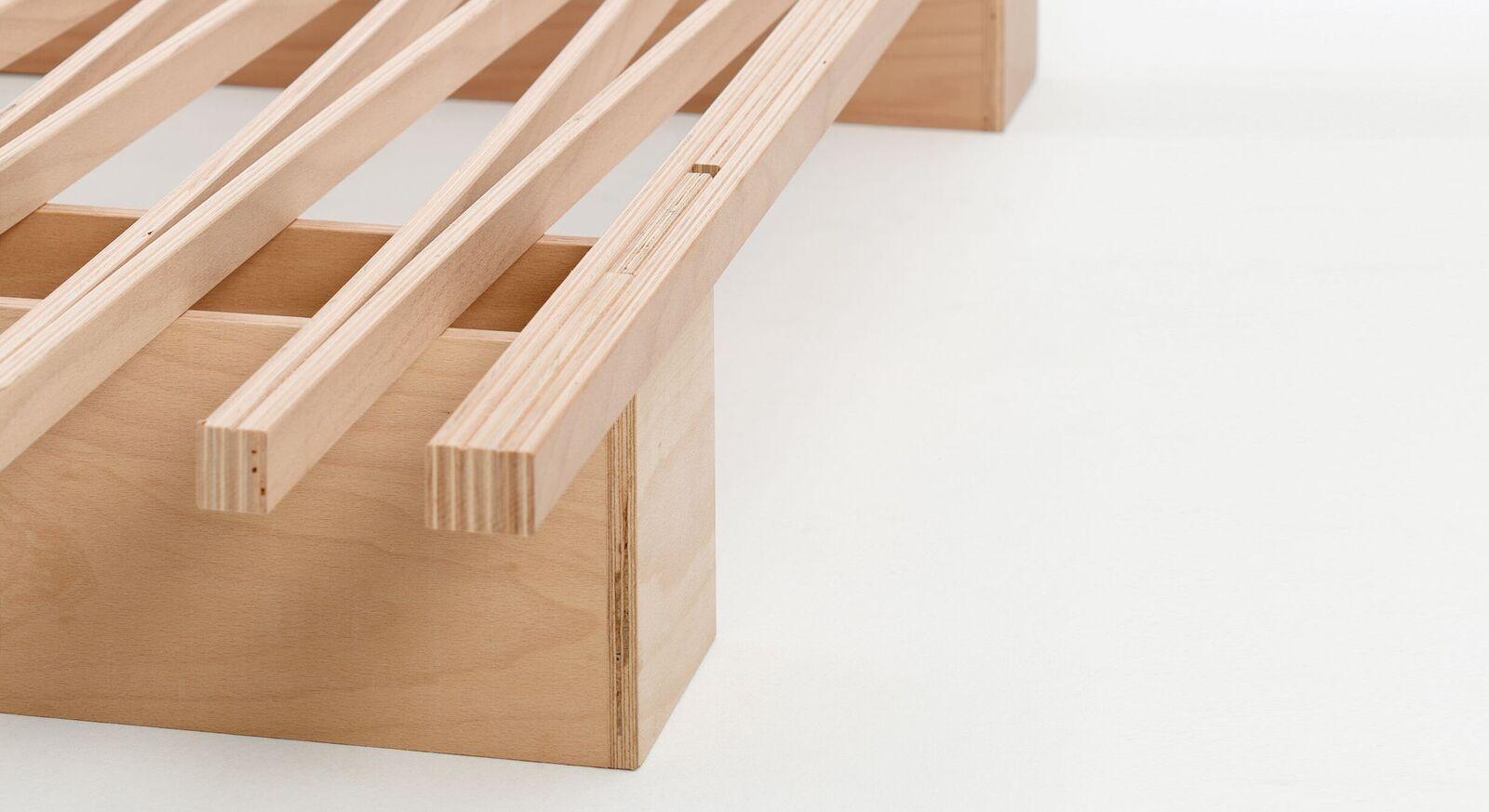 Bettsystem Tojo V aus Buche Multiplex