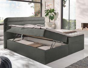 schlafzimmer komplett mit boxbett und schiebet renschrank arba. Black Bedroom Furniture Sets. Home Design Ideas