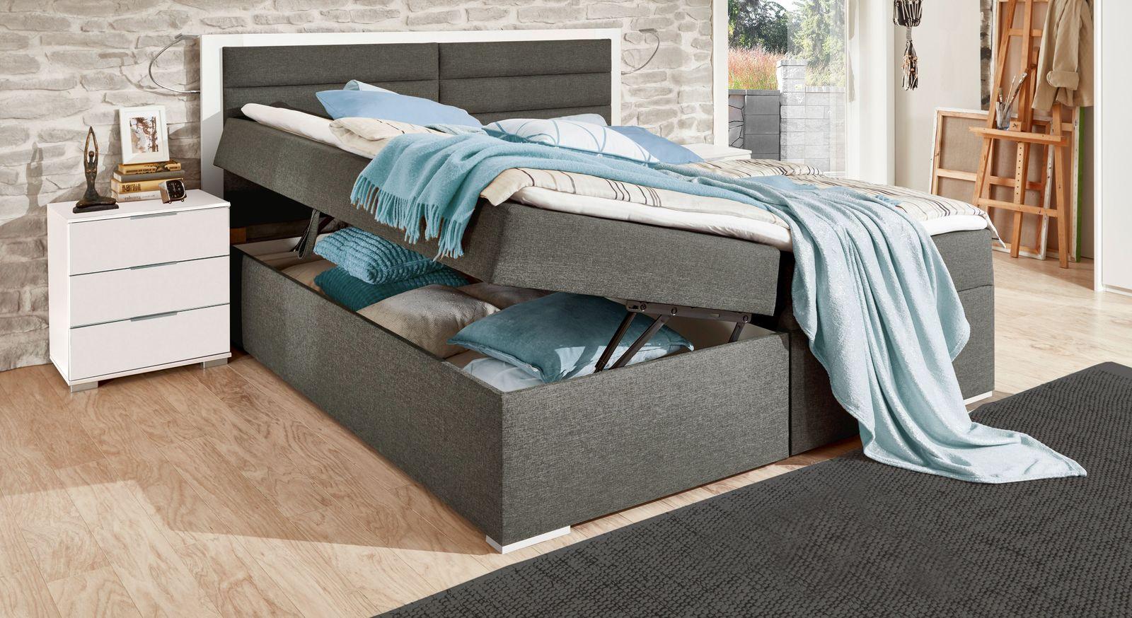 Boxbett Cartini mit geräumigen Bettkästen