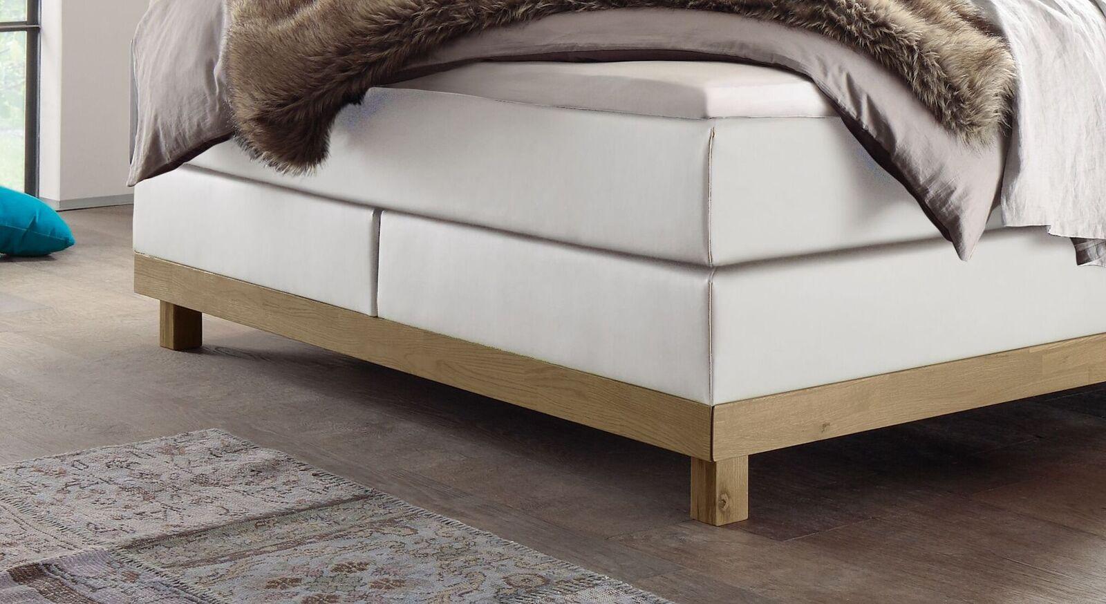 Boxspringbett Diori mit robustem Holzgestell