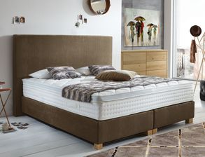 Boxspringbett Independence inklusive Topper
