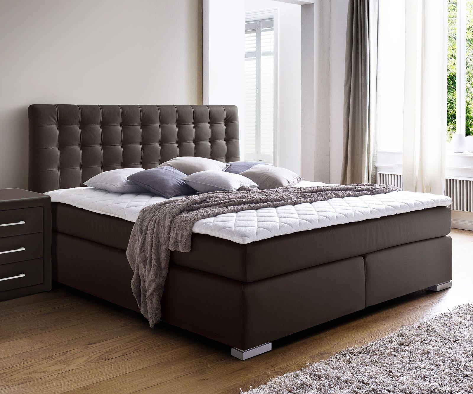 boxspringbett in z b 180x200 cm in h2 und h3 kaufen taimea. Black Bedroom Furniture Sets. Home Design Ideas