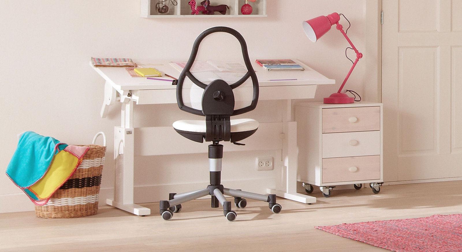 Stabiler LIFETIME Bürostuhl Original mit Doppelrollen