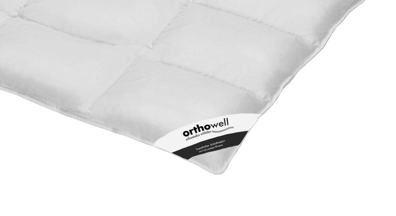 Daunen-Bettdecke orthowell Superior normal in Markenqualität