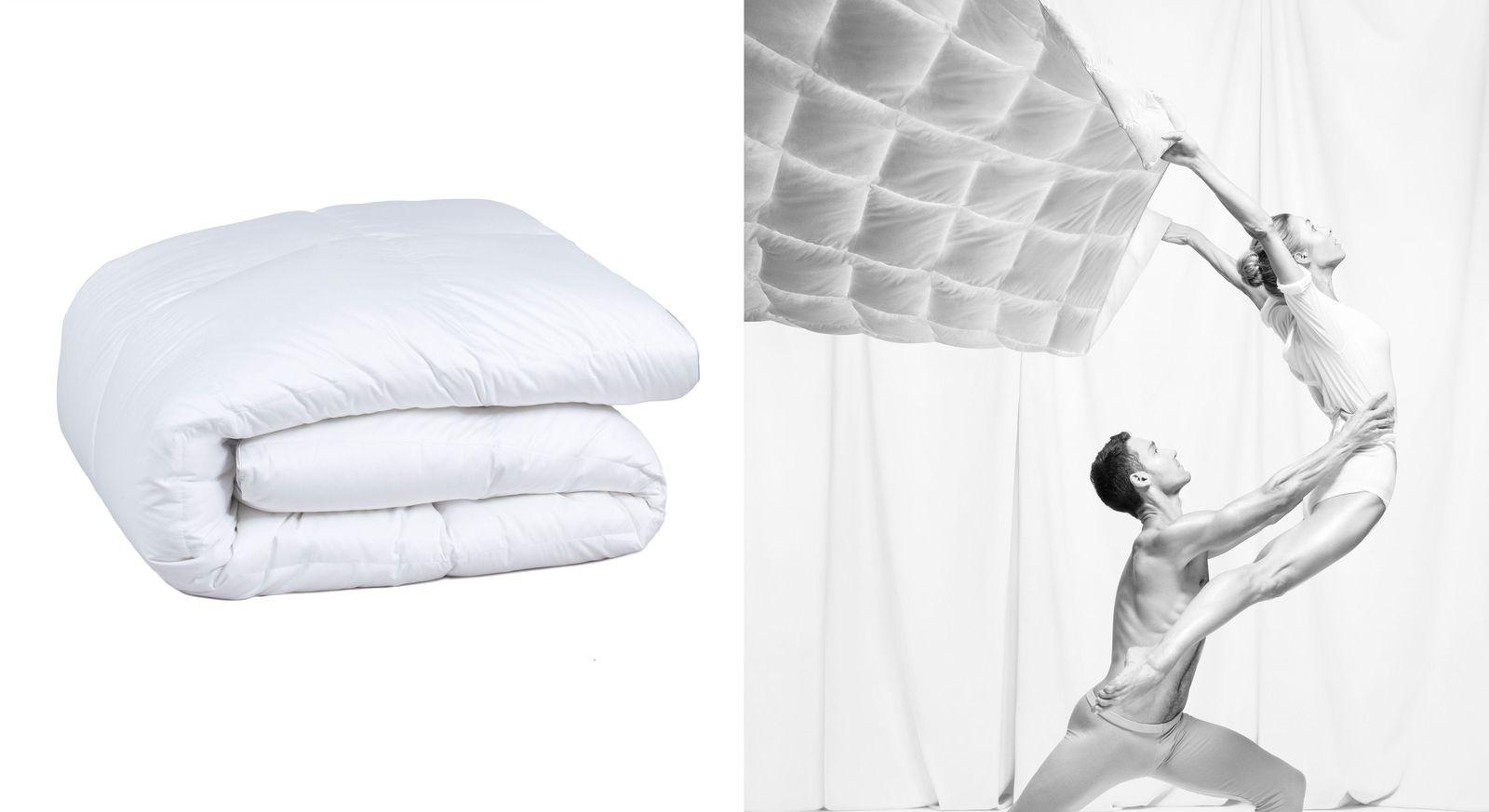Pyrenex Bettdecke premium warm mit Daunen aus artgerechter Tierhaltung