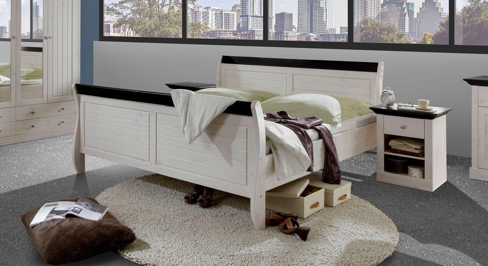 Doppelbett Imala im angesagten Landhausstil