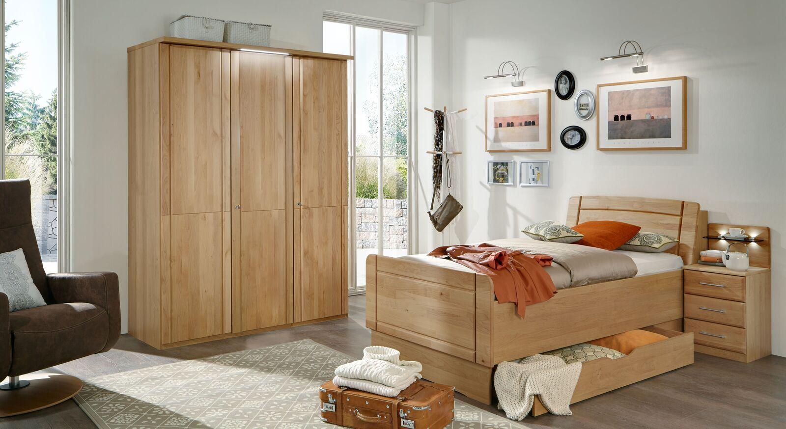 Drehtüren-Kleiderschrank Ageo Holzfront mit passenden Produkten