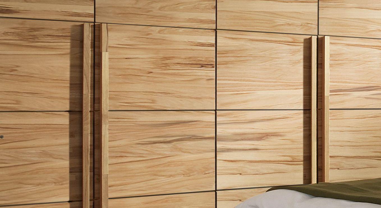 Drehtüren-Kleiderschrank Andalucia mit langen Griffleisten