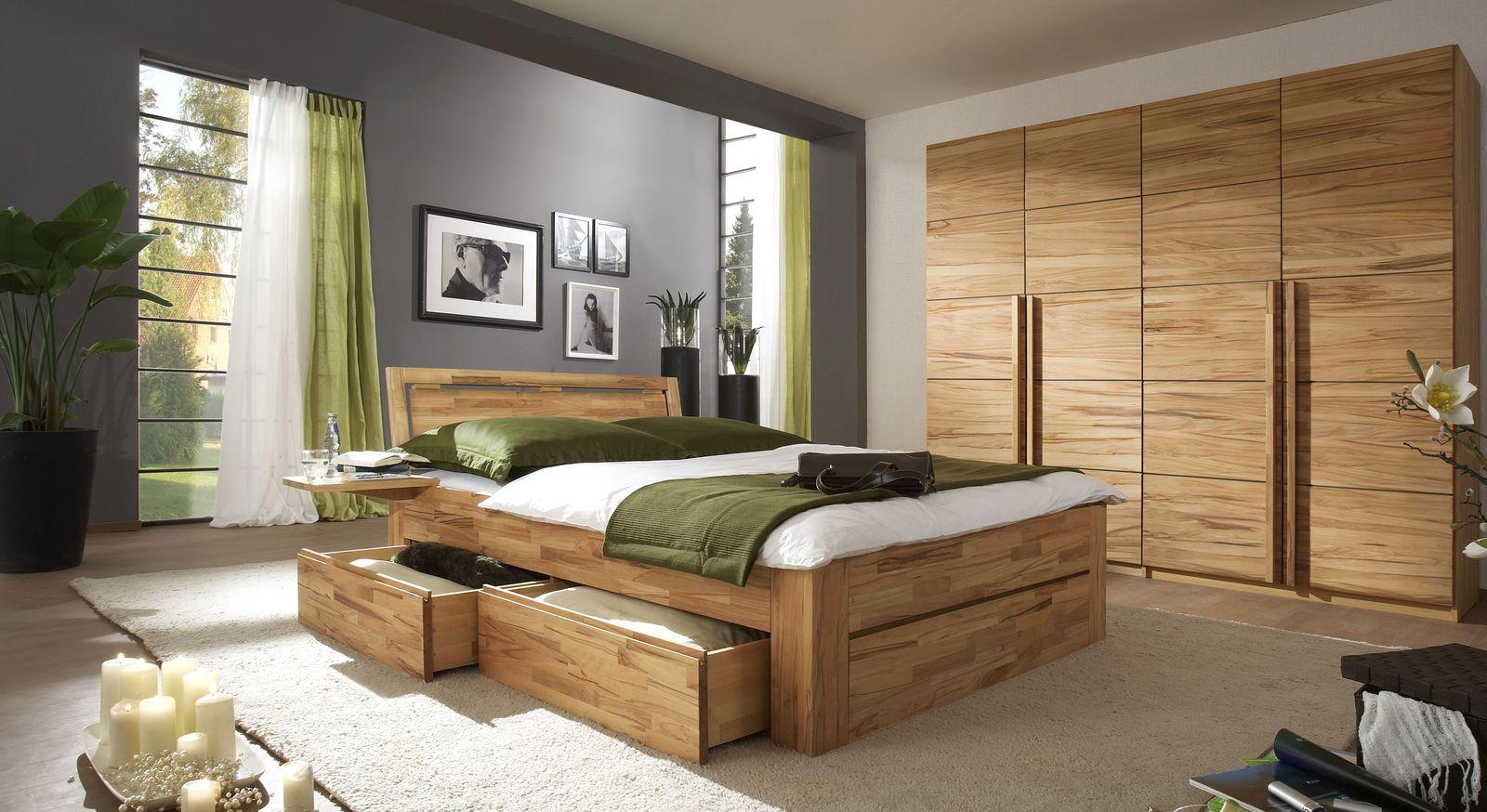Drehtüren-Kleiderschrank Andalucia mit passendem Bett