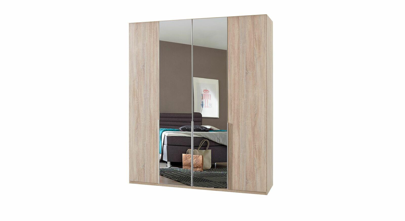 Drehtüren-Kleiderschrank Coreno optional mit Spiegelfront