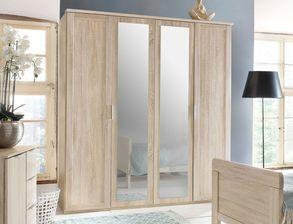 charmantes komplett schlafzimmer in eiche s gerau dekor sinello. Black Bedroom Furniture Sets. Home Design Ideas