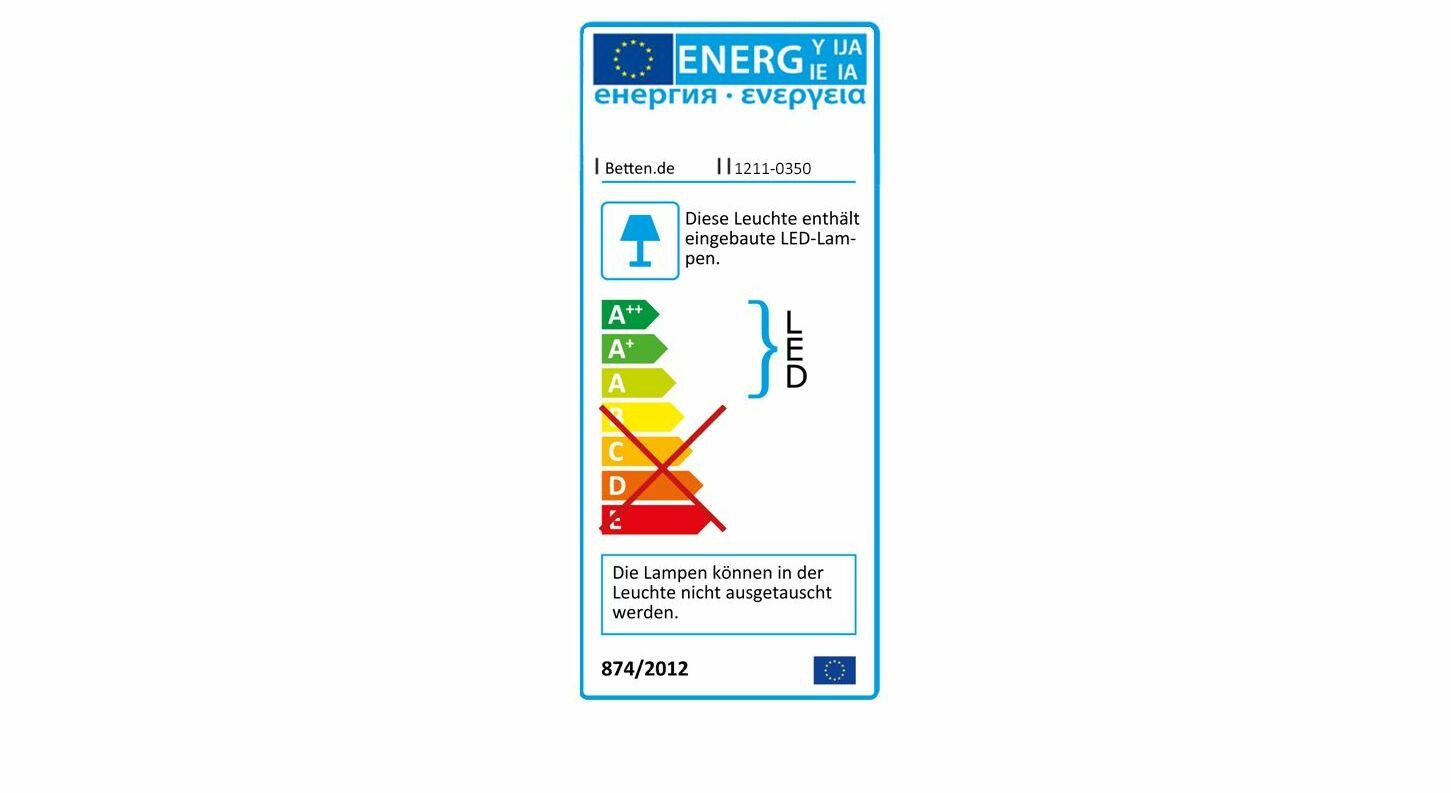 Energieverbrauchskennzeichnung vom Nachttisch Evansville