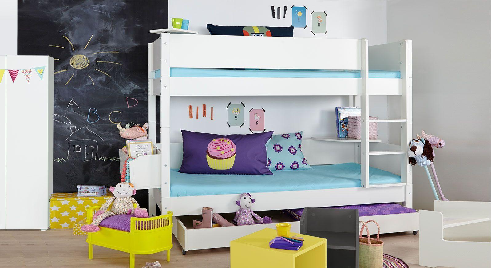 Hochwertiges und modernes Etagenbett Kids Town