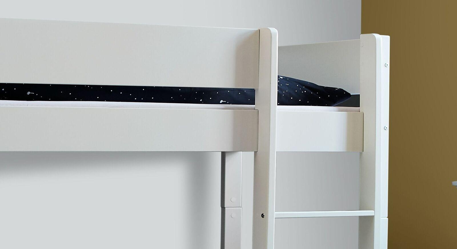 Etagenbett Tacora mit gerader Leiter