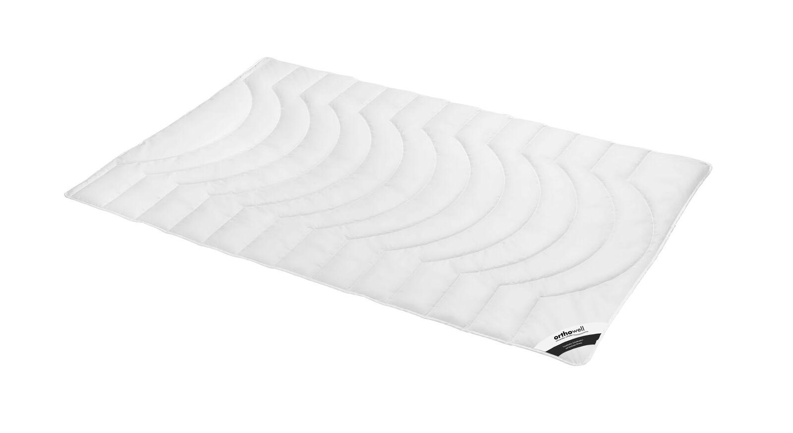 Faser-Bettdecke orthowell Premium extra leicht für Sommermonate