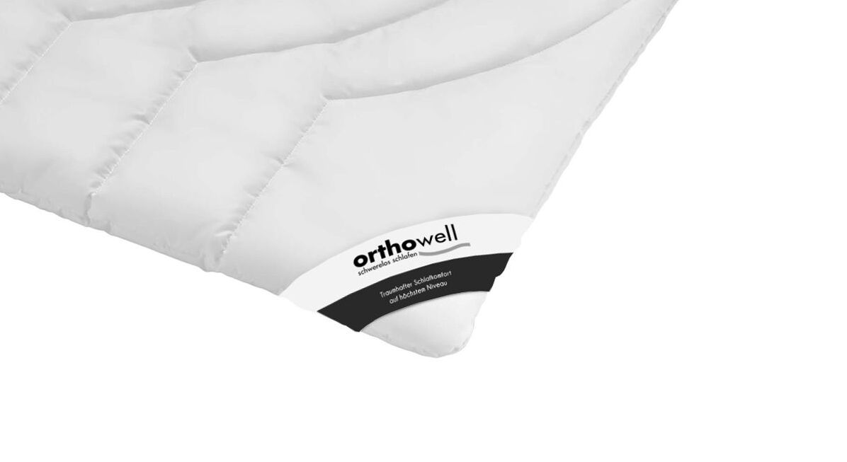 Faser-Bettdecke orthowell Premium in Markenqualität