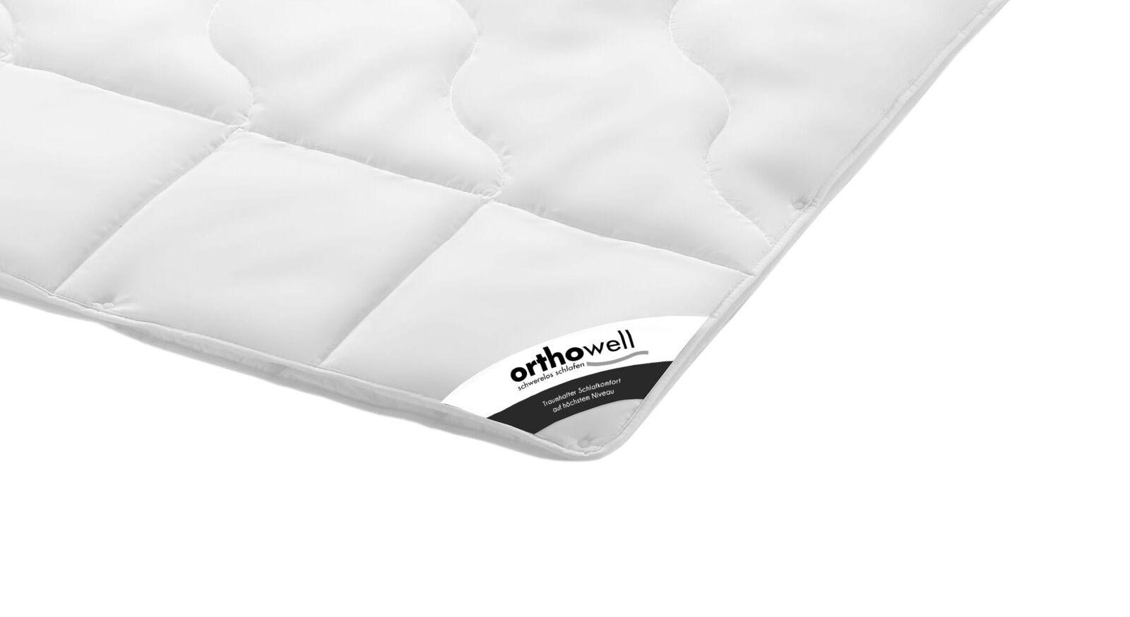 Faser-Bettdecke orthowell Standard extra warm in Markenqualität
