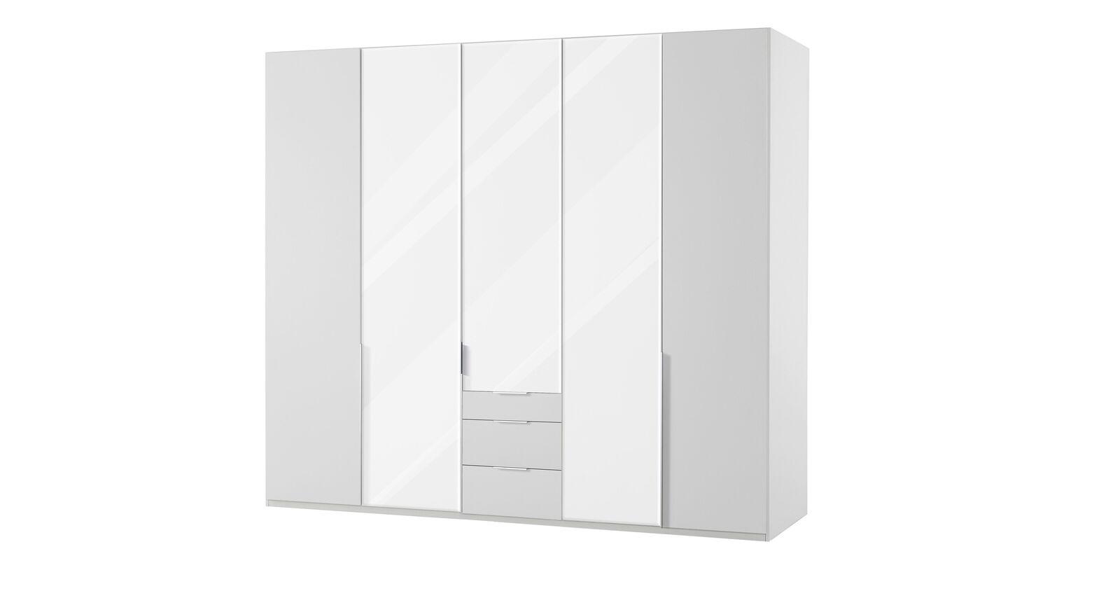 Funktions-Kleiderschrank Ceprano mit 3 Spiegeltüren