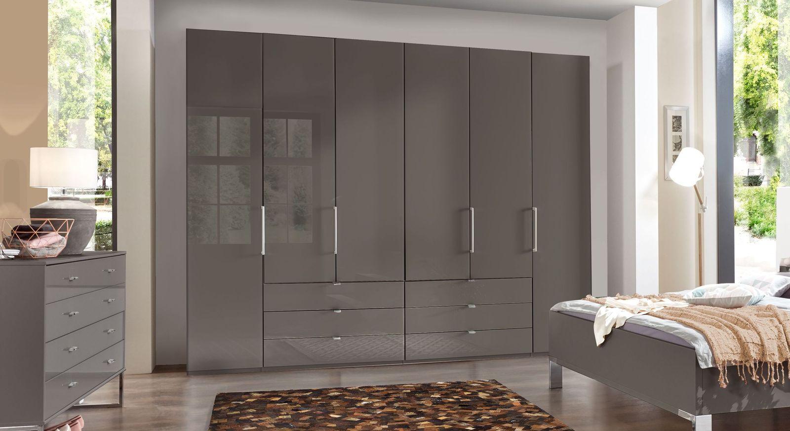 Funktions-Kleiderschrank Harrow mit eleganter Glasfront