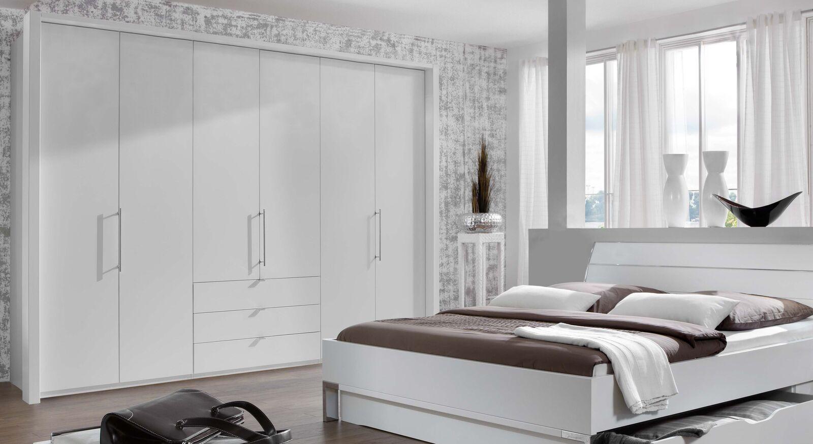 Eleganter Funktions-Kleiderschrank Salford mit Passepartout