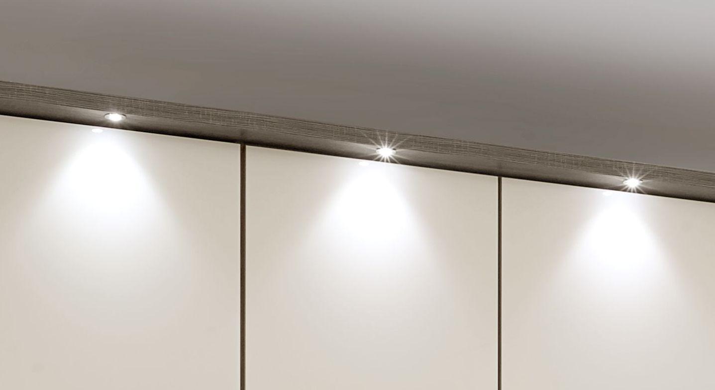 Funktions-Kleiderschrank Tiko mit optionaler LED-Beleuchtung
