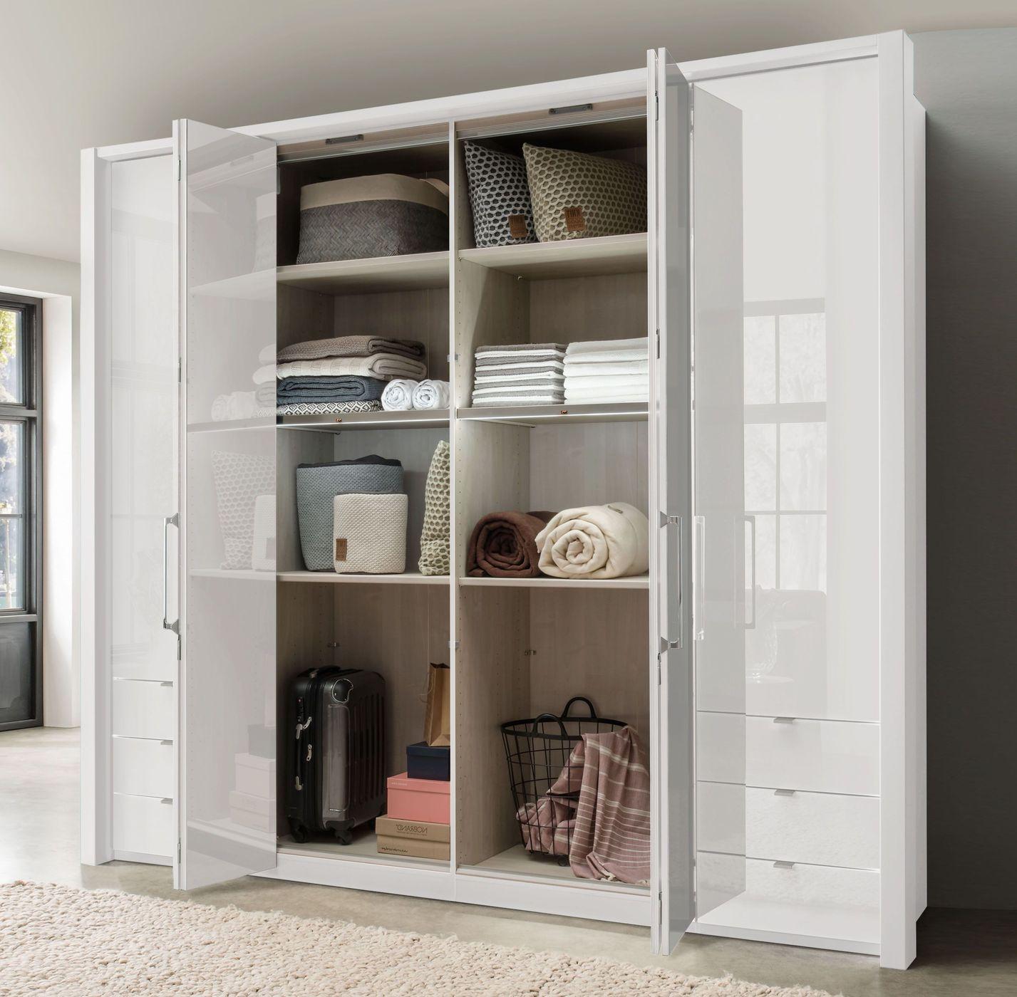 funktions kleiderschrank mit automatischem t r ffner westville. Black Bedroom Furniture Sets. Home Design Ideas