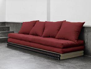 futon schlafsofas und schlafcouchen preiswert auf. Black Bedroom Furniture Sets. Home Design Ideas