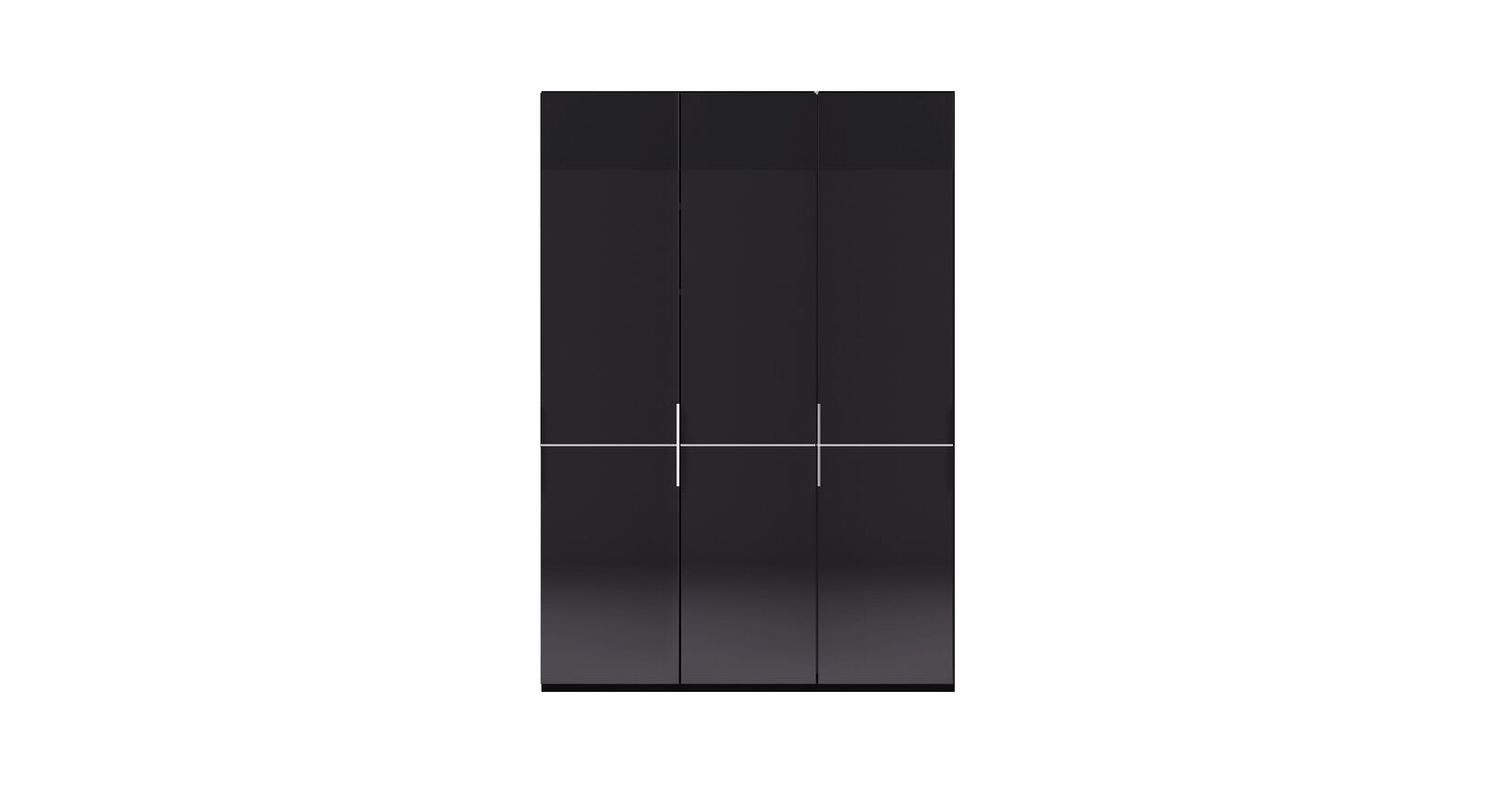 3-türiger GALLERY M Drehtüren-Kleiderschrank IMOLA W Weiß ohne Spiegel