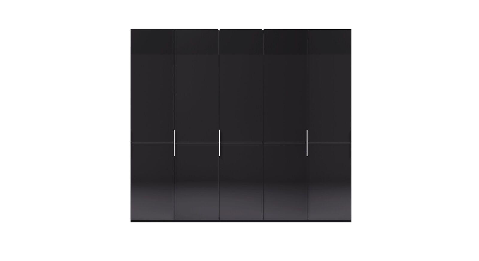 5-türiger GALLERY M Drehtüren-Kleiderschrank IMOLA W Weiß ohne Spiegel