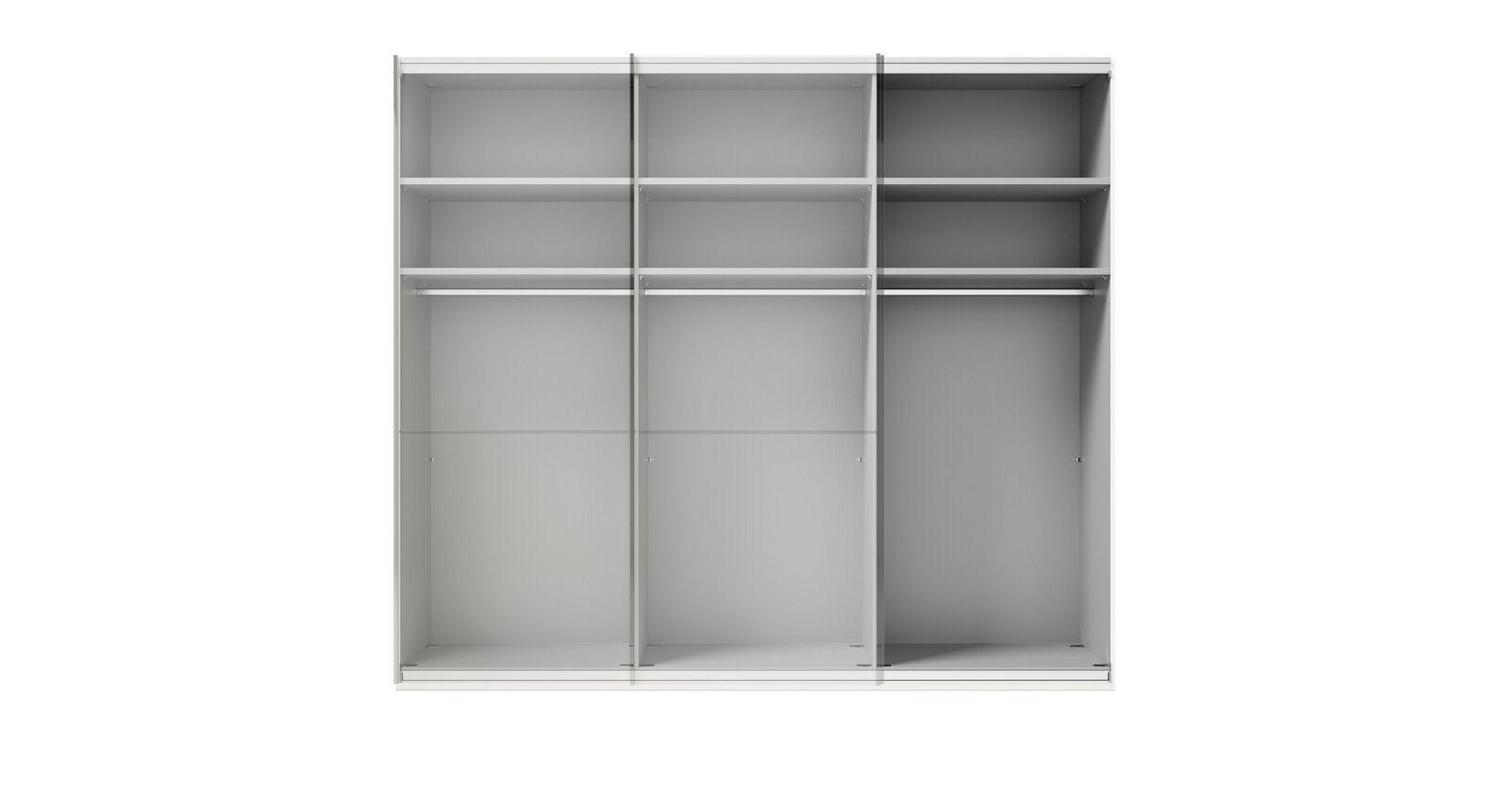 GALLERY M Schwebetüren-Kleiderschrank IMOLA W in Weiß mit Basic-Ausstattung