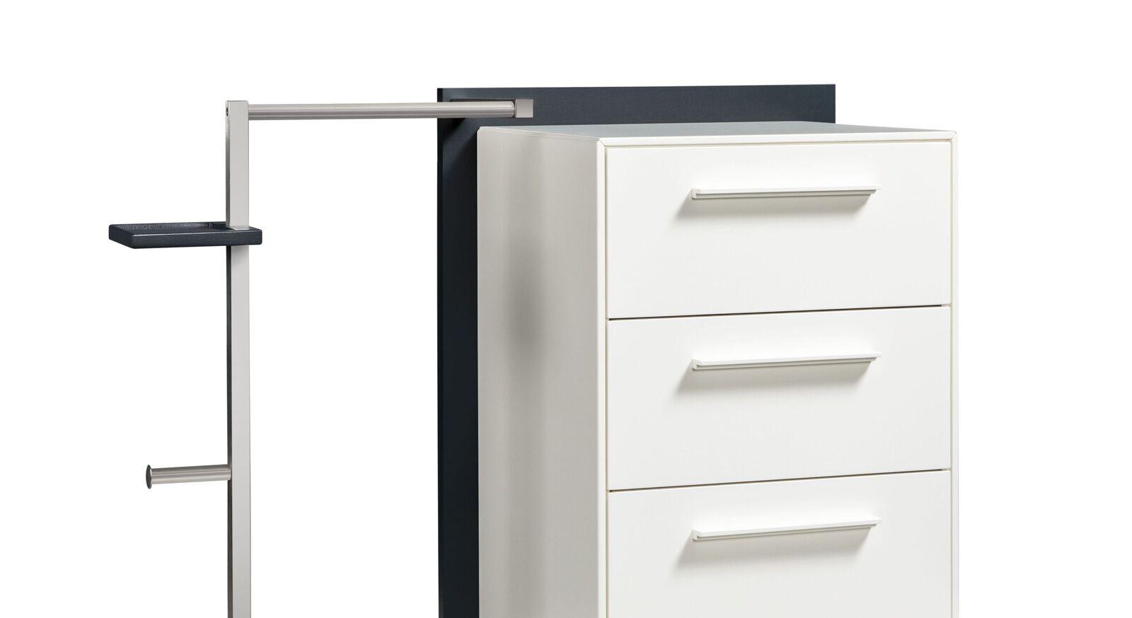 Garderoben-Kommode Cilona mit praktischen Aufbewahrungs-Möglichkeiten