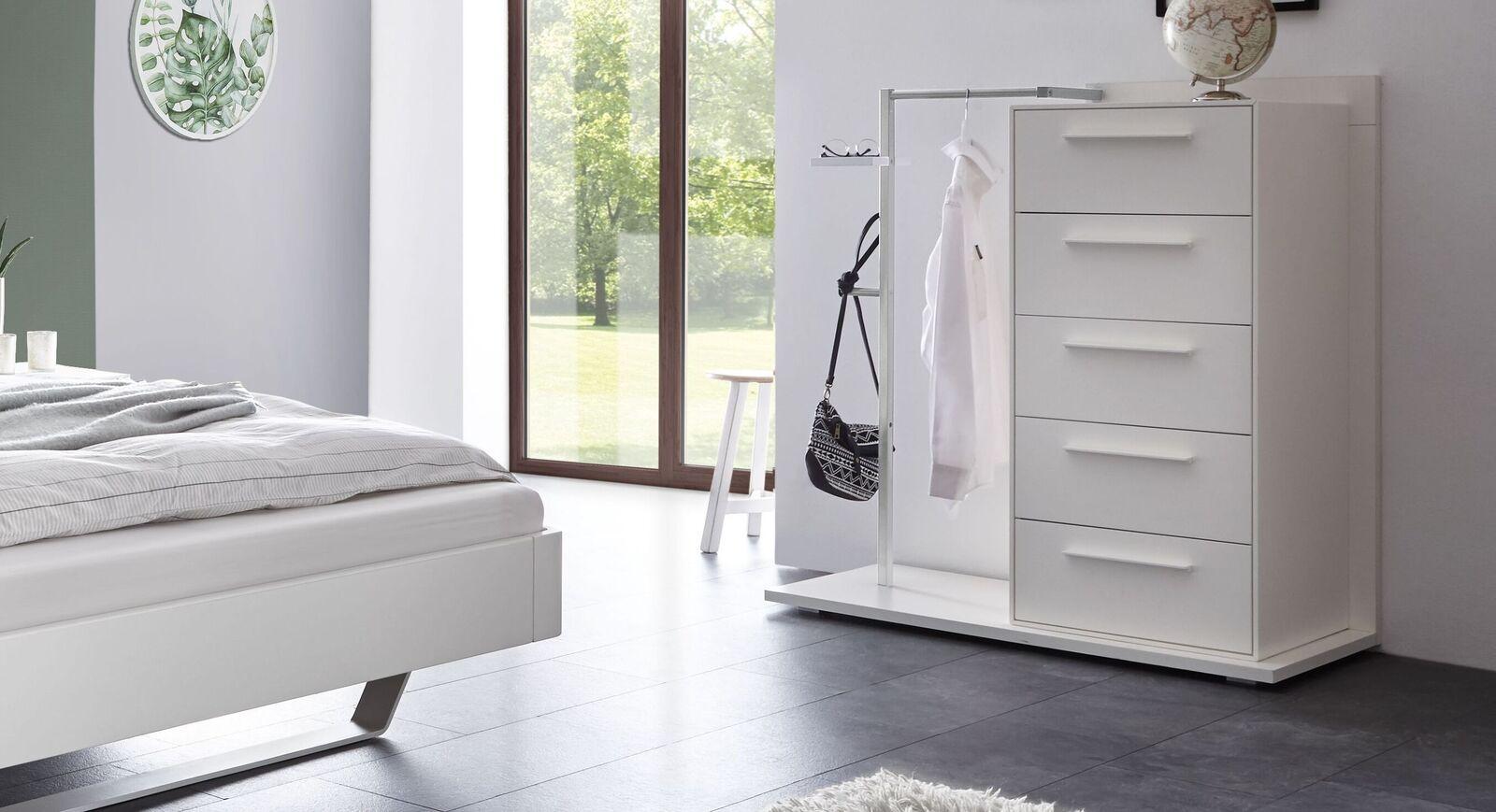 Garderoben-Kommode Cilona als Herrendiener fürs Schlafzimmer