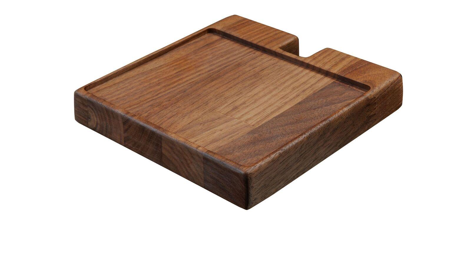Ablageplatte aus Nussbaumholz der Garderoben-Kommode Ronario