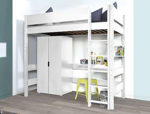 jugendhochbetten online g nstig kaufen. Black Bedroom Furniture Sets. Home Design Ideas