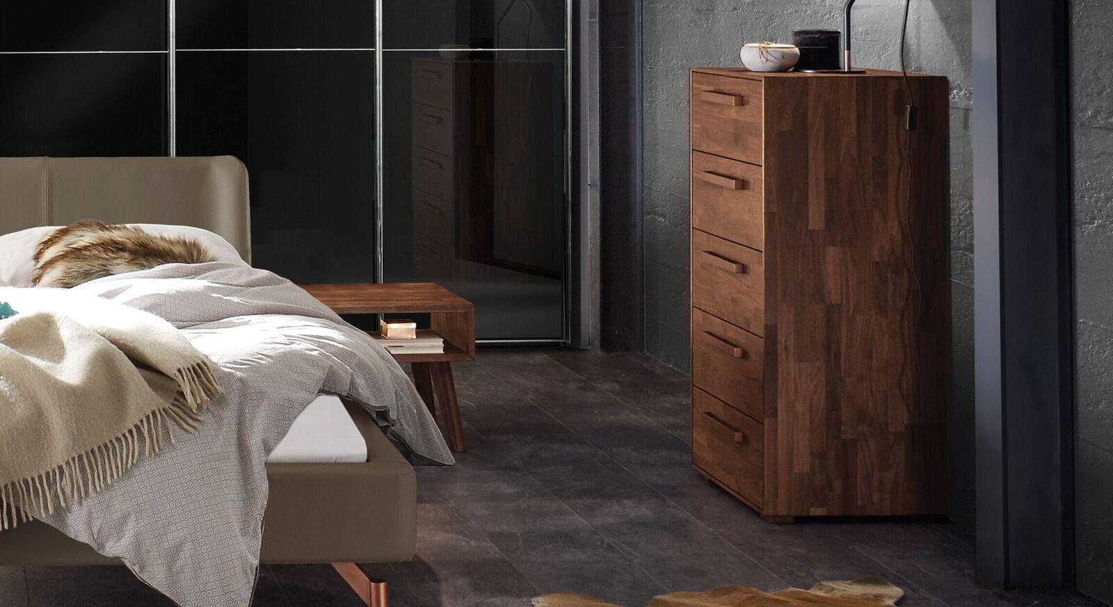 Ideale Hochkommode fürs Schlafzimmer