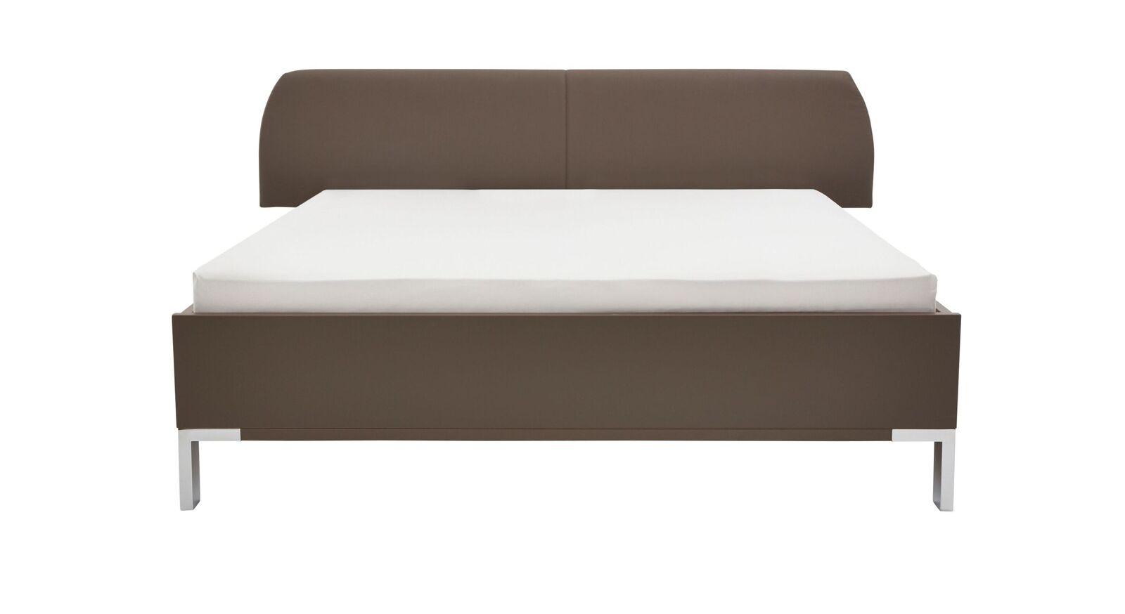 Trendiges INTERLIVING Bett 1006 aus havannafarbenem Dekor