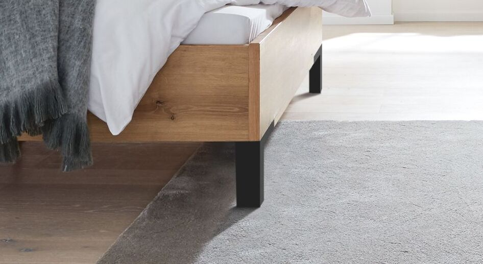 INTERLIVING Bett 1205 mit modernen Metallfüßen