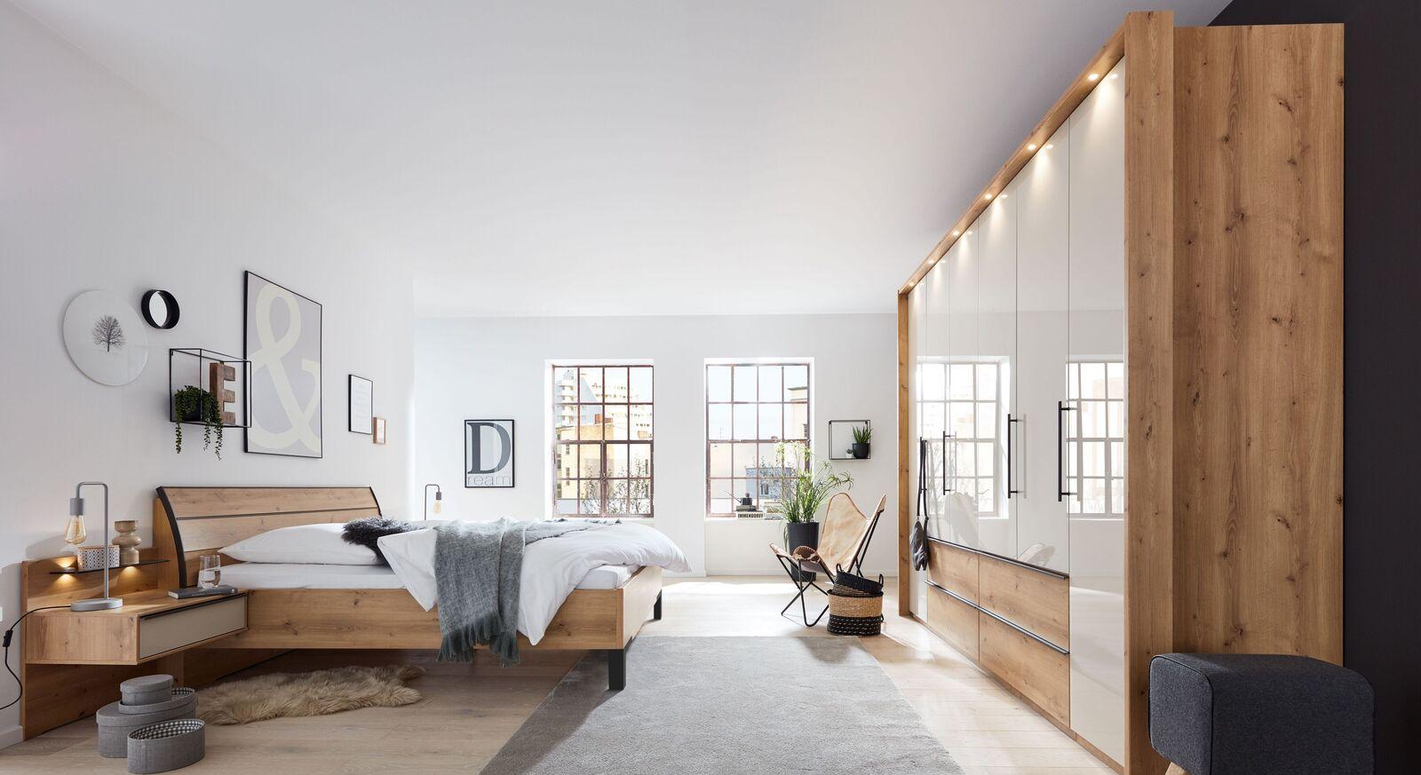 INTERLIVING Schlafzimmer 1205 mit passenden Beimöbeln